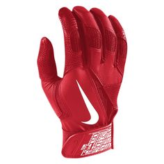 Red Nike Batting Gloves | gb0305-red-red.jpg