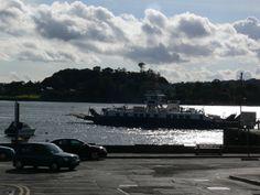 Strangford to Portaferry ferry.