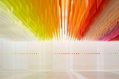 "Architect Floats ""100 Colors"" for Japanese Art Festival"