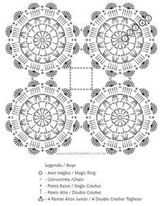 Trilho de Mesa Flores em Degradê - Gráfico