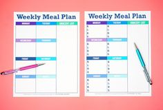 Printable Weekly Meal Planner Template - Happiness Is Homemade pertaining to Menu Planner With Grocery List Template - Business Template Free Printable Menu Template, Weekly Meal Plan Template, Menu Planner Printable, Free Meal Planner, Weekly Menu Planners, Weekly Planner Template, Meal Planning Printable, Menu Templates, Templates Free
