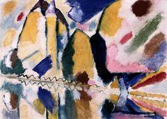 Wassily Kandinsky -Autumn II (1912)