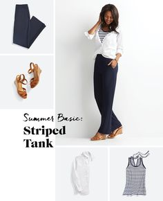 Shake Up Your Striped Tee