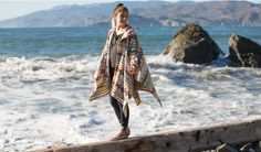Betabrand~'The Campigan'~poncho and more...