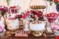 Fotos de Mesa de Bolo de Casamento