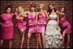 Bridesmaids photo idea. [I love this movie!] <3