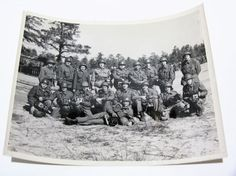 Items similar to Original World War 2 Photograph - US Signal Corps Group Photo - x Photo Camera on Etsy Group Photos, Vintage Photographs, World War Ii, 1940s, Tapestry, Black And White, The Originals, Frame, Photography