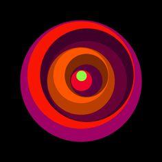 Ice Cream Sundae #3 (Ultra Violet), Graphic Nothing/Gary Andrew Clarke