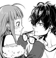 Image about love in Anime Romance 💖💖💖 by ~ Mira ~ ♥️ Persona Five, Persona 5 Memes, Persona 5 Anime, Persona 5 Joker, Cool Animes, Wallpaper Fofos, Shin Megami Tensei Persona, Akira Kurusu, Manga Couple