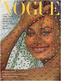 Vintage Vogue magazine covers - mylusciouslife.com - Vintage Vogue November 1962 - Sophia Loren.jpg