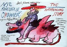 Neverending Story Polish movie poster