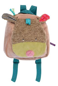 Dog Backpack from the Les Jolis pas Beaux line! #629069 #magicforesttoys #moulinroty