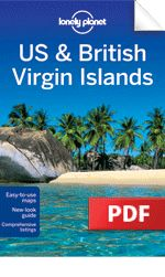 """eBook Travel Guides and PDF Chapters from Lonely Planet: US & British Virgin Islands - """"Tortola"""" (PDF Chapter"""