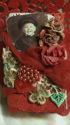 NOOK AND CRANNY-Altered Valentine matchbox