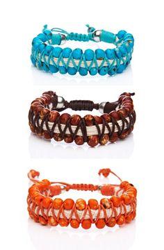 """Shashi """"Bahama"""" Beaded Bracelet  (  )"""