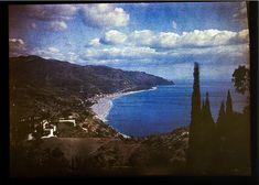 ITALIE MER 1935 AUTOCHROME LUMIERE PLAQUE 9x12 VUE PHOTO FILMCOLOR | eBay