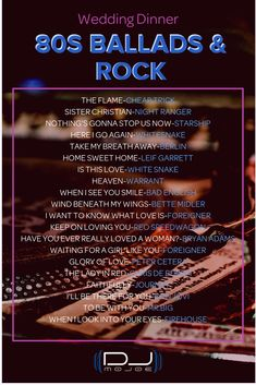 Dinner Ballads & Rock, a playlist by Joe Rivera on Spotify Music Lyrics, Music Songs, Music Quotes, Music Videos, Playlists, Musica Pop Rock, Positive Songs, Song List, 80s Songs List