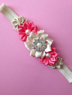 Headband Baby girl HeadbandNewborn by Cutiesdressup on Etsy