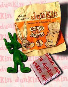 Los años 70: El Conejo de la Suerte DUNKIN