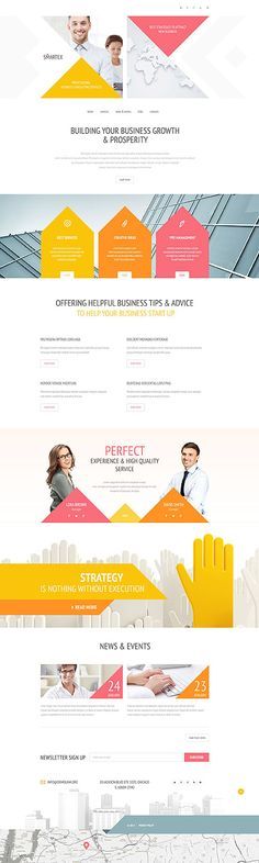 Business Strategies Services Company #website #template. #themes #business #responsive #websitethemes