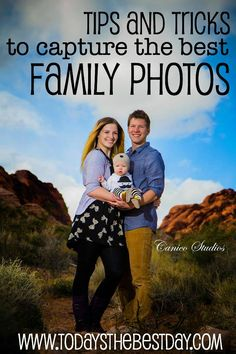 Tips and Tricks To Capture the Best Family Photos - Clothing, Location and Photographer!