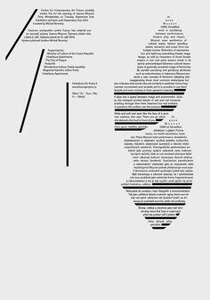 Typography Alphabet, Typography Layout, Graphic Design Typography, Alphabet City, Typographic Poster, Typographic Design, Editorial Layout, Editorial Design, Computer Basics