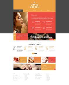 Religious Organization - WordPress Theme