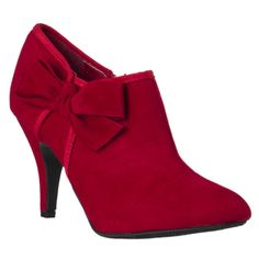 @Overstock - These Riverberry booties feature a playful bow accent and an allover faux suede construction. These booties are finished with an eye-catching 3.25-inch stiletto heel.http://www.overstock.com/Clothing-Shoes/Riverberry-Womens-Tulip-Bow-detail-Booties/7396467/product.html?CID=214117 $37.59