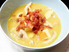 Creamy Potato and Chicken Soup (AIP, Paleo, dairy free)