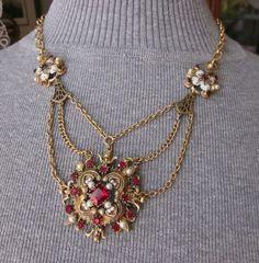 Resultado de imagen para forever yours vintage collage necklace