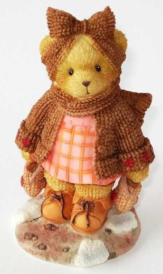 Heidi´s Cherished Teddies Galerie: HILDA - You Know How To Keep My Heart Warm (104658)
