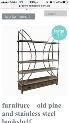 Shelving unit from a local store I like