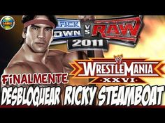 WWE Desbloquear Ricky Steamboat #Wrestlemania [Finalmente] SvR 2011