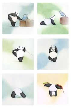 Panda yoga, Even for animals it is important to stay flexible and be fit. www.spiritualitytemple.com/spiritual-healing/