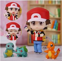 Japón de animación figura de acción de Pokemon juguetes PVC Ash Ketchum Bulbasaur pequeñas llamas Pokemon colección niños juguetes regalos