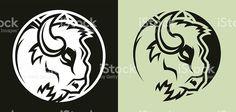 buffalo-head-mascot-vector-id547020404 (1024×490) Buffalo Art, Starcraft, Free Vector Art, Illustrations, Light In The Dark, Clip Art, Helmet, Silhouette, 3d