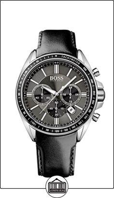 Hugo Boss Reloj de cuarzo Man Hb1513085 Gris Oscuro 45 mm de  ✿ Relojes para hombre - (Gama media/alta) ✿