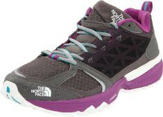 The North Face Women's Single Track Hayasa Trail Running Shoe,Dark Gull Grey/Magic Magenta,9 M US | Kencleng Store