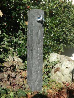 Wasserzapfsäule Aus Basalt, Wasserzapfstelle, Außenwasserhahn, Echter  Naturstein Kaufen Bei Hood.de