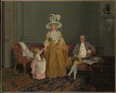 The Saithwaite Family, Artist: Francis Wheatley (British, London 1747–1801 London), Date: ca. 1785