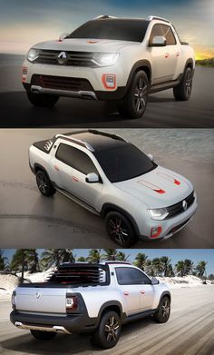 The first upcoming pickup truck from Renault, the Duster Oroch has been revealed at the Buenos Aires Motor Show with unique body language for the customers. 4x4, Pick Up, Pickup Trucks, Nissan, Automobile, Engineering, Muscle, Vehicles, Romania