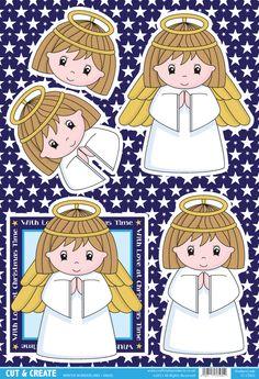 Buzzcraft Christmas Cut & Create - Winter Wonderland - Angel