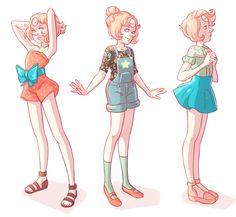 cartoon, cute, fashion, pearl, steven universe
