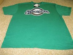 Ryan Braun - #8 - Milwaukee Brewers Green Short Sleeve T-Shirt - Adult XL