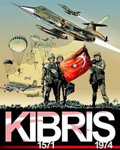 ( ・・・ On July the Turkish Armed Forces launched an operation on the island of Cyprus to protect the Turks, which live separate from the motherland, by using the right of being Gallipoli Campaign, Turkish People, The Turk, Ottoman Empire, World War I, Illustrations, Cyprus, Armed Forces, Novels