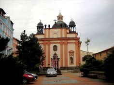 Kostel sv. Kříže - Děčín - Česko
