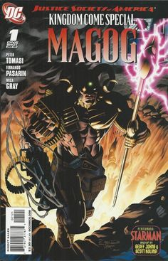 DC Kingdom Come Special Magog comic issue 1 Limited variant