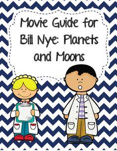 bill nye worksheets moon - 236×304