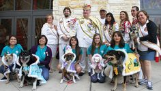 El Rey Fido and the Royal Court 2013 Coronation Ceremony