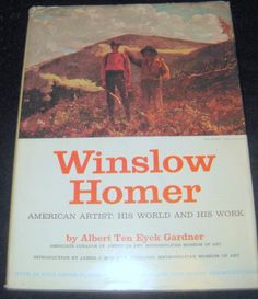 Winslow Homer American Artist H/C D/J coffee table book